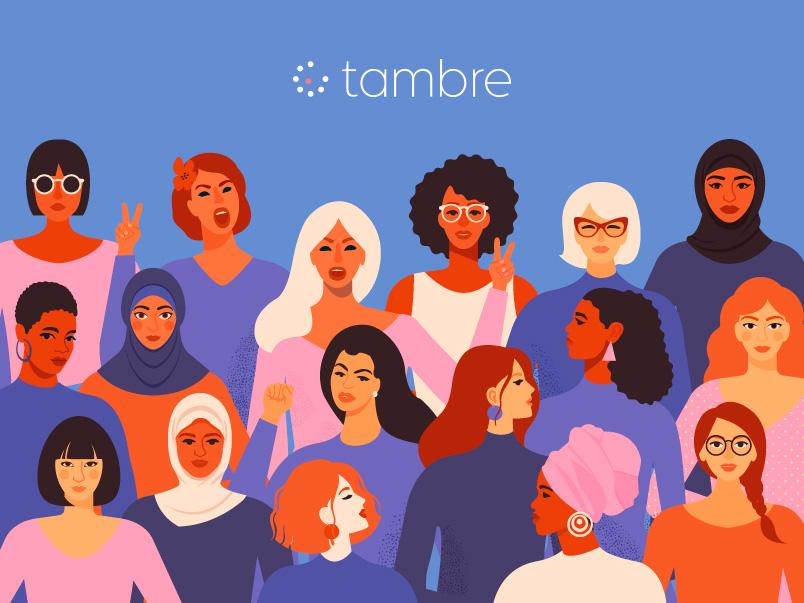Internationalen Frauentag Tambre